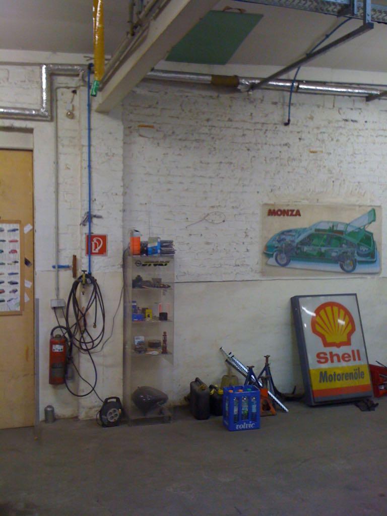 Werkstatt Innen